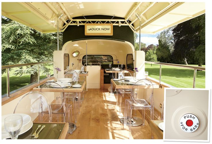 The Double-Decker Pleasure of the Rosebury, Britain's Posh Bus-Restaurant   Vanity Fair