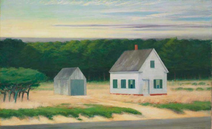 October on Cape Cod, Edward Hopper