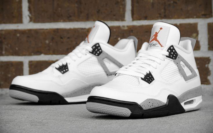 "Air Jordan 4 ""Cement"""