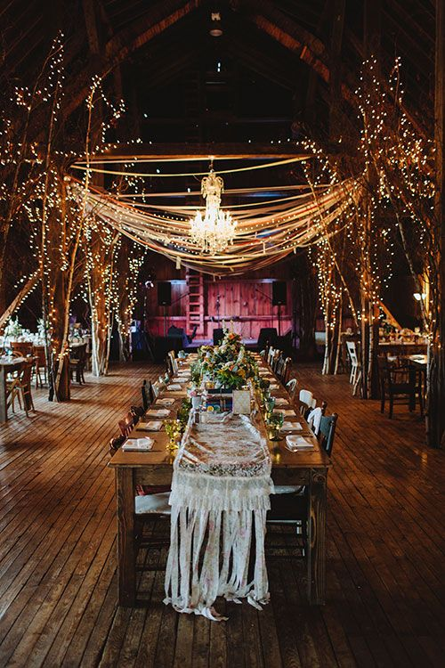 Ways To Bring The Outdoors Into Your Wedding. Lighted TreesTwinkle ...