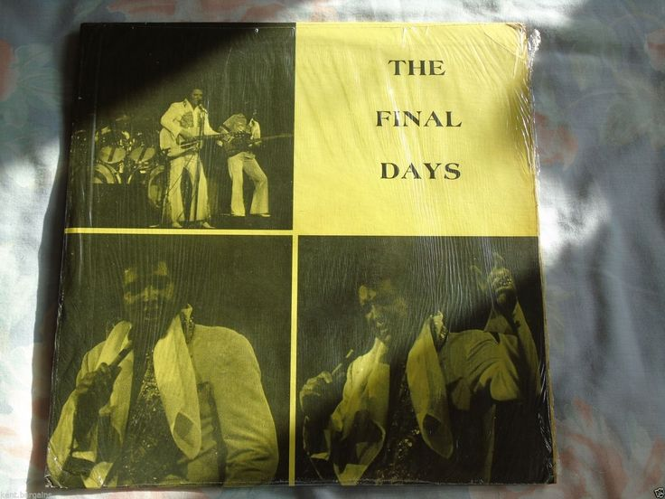 Elvis Presley The Final Days Promo Vinyl lp Rare !! in Music, Records, Albums/ LPs | eBay