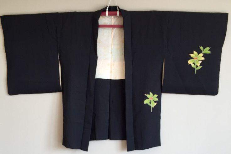 A personal favourite from my Etsy shop https://www.etsy.com/au/listing/477875699/1950s-black-haori-kimono-jacket-boho