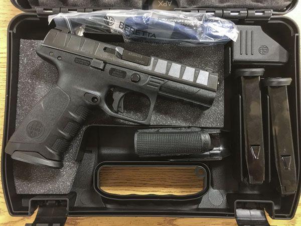 Gun Review: Beretta APX Full-Size Striker Fired Pistol - The Truth About Guns