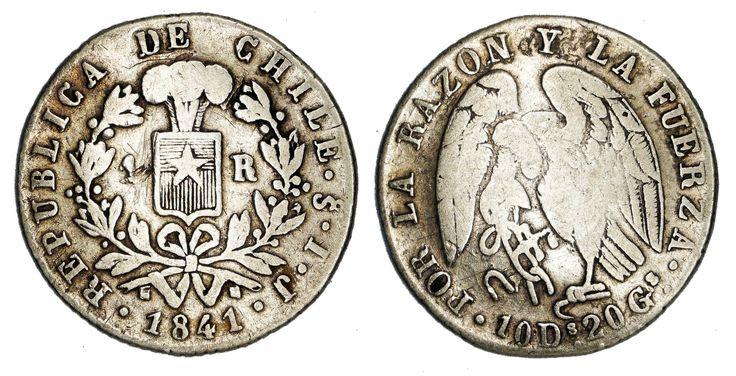 https://flic.kr/p/SermDi   1 Real 1841 Chile   0.9020 Silver Mintage: 7,928