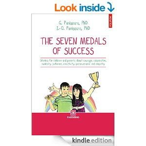 The book contains stories for children about developing personal success skills and it is based on psychological and pedagogical studies - the medals of courage, cooperation, curiosity, patience, creativity, perseverance and empathy.  http://www.amazon.com/The-seven-medals-success-Parenting-ebook/dp/B00M1O1IIQ