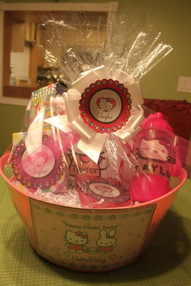 31 best any occasion gift baskets images on pinterest gift hello kitty easter basket negle Choice Image