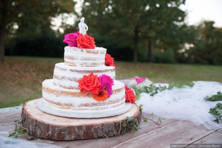 Base per la wedding cake. Per un matrimonio dal tocco campestre