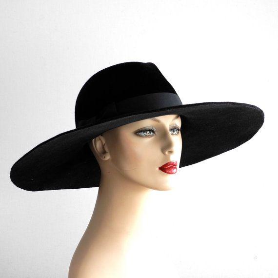 wide brimmed fedora hat womens hat fall fashion fall