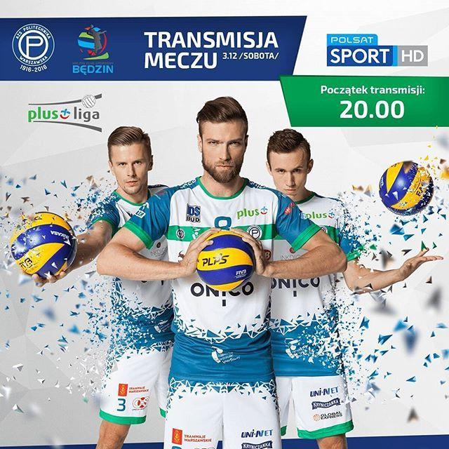 Już za chwilę ONICO AZS Politechnika Warszawska rozpocznie walkę z MKS-em Będzin. Nie możecie być z nami hali COS Towar? Oglądajcie mecz w Polsacie Sport. #azspw #politechnika #warszawa #przedmeczem #transmisja #wrona #8 #środkowy#smoliński #3 #halaba #6 #przyjmujący #siatkarze #volleyballplayers #mksbędzin