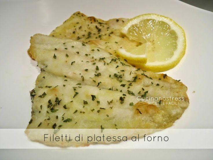 Cucinanostress : FILETTI DI PLATESSA AL FORNO
