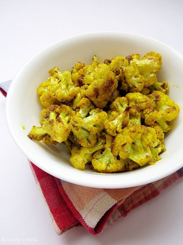 Pečený karfiol / Tandoori gobi