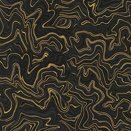 Robert Kaufman - Holiday Flourish 11 APTM-17341-2 BLACK