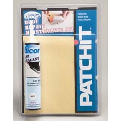 Awesome Rv Roof Repair Patchit Kit 402PR. RV Patchit Roof Repair Kit 402PR Easily  Repairs Punctures