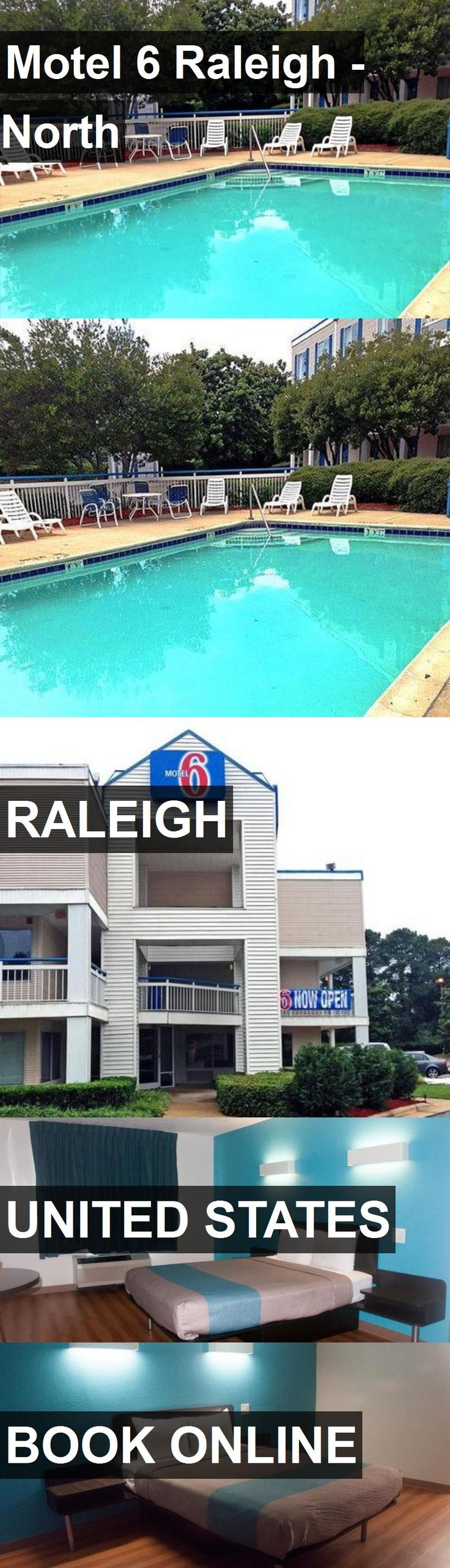 Hotel Motel 6 Raleigh - North in Raleigh, United States. For more information, photos, reviews and best prices please follow the link. #UnitedStates #Raleigh #Motel6Raleigh-North #hotel #travel #vacation