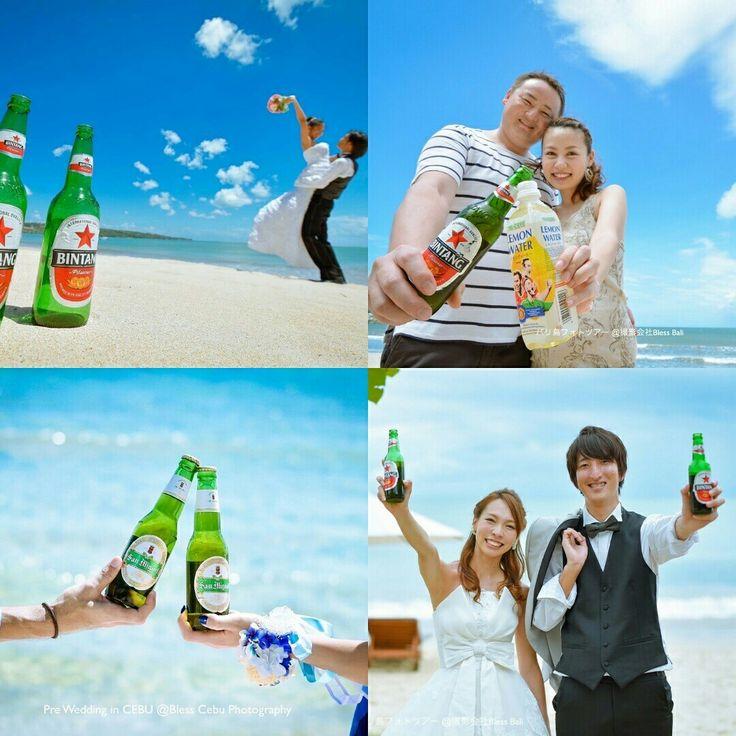 \フォトツアー小物アイディア/  バリ島といえばこれ!のビンタンビールを使った前撮りフォト。真夏のビーチにぴったりのアイテムです  Prewedding photo ideas of Bintang beer we love  #ハネムーン #フォトツアー小物アイディア #バリ #バリ島 #撮影小物 #ビーチフォト #ビール #ロケーションフォト #フォトツアー #フォトウェディング #プレ花嫁 #2016花嫁 #写真好きな人と繋がりたい #日本中のプレ花嫁さんと繋がりたい #バリが好きな人と繋がりたい #花嫁 #bali #baliprewedding #preweddingbali #prewedding #baliwedding #fotoweddingbali #beachprewedding #portraitphotography #발리 #발리허니문 #웨딩사진 #웨딩스냅 #웨딩촬영