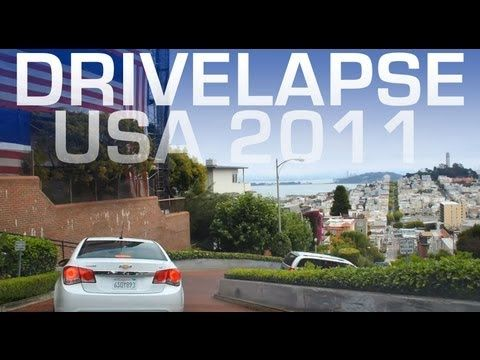 Time-lapse: Drive Across America in 5 Minutes - So awesome!