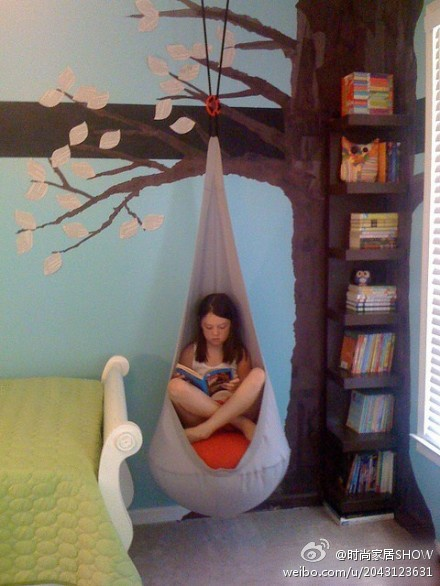 reading corner. pretty dang awesome.