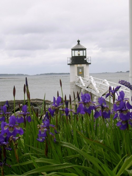 Marshall Point Lighthouse- Port Clyde, Maine- This lighthouse is as far east as Forrest Gump was able to run on his cross country journey.