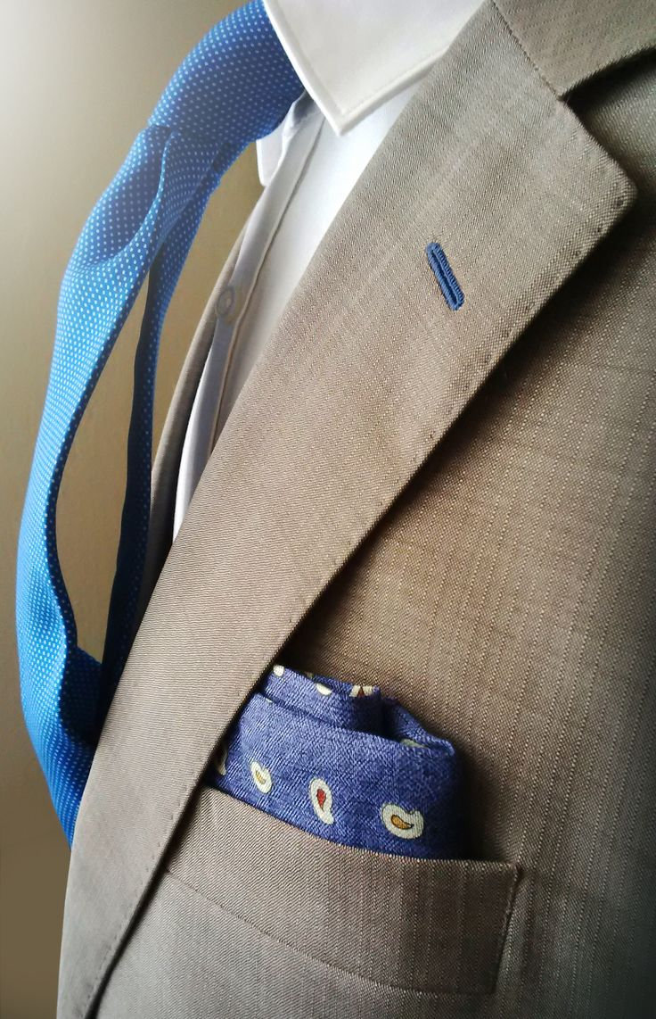 New ENASONI pocket square summer collection 2016!