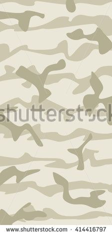 Vector realistic mountain camouflage pattern background editable Dry Grass  - stock vector