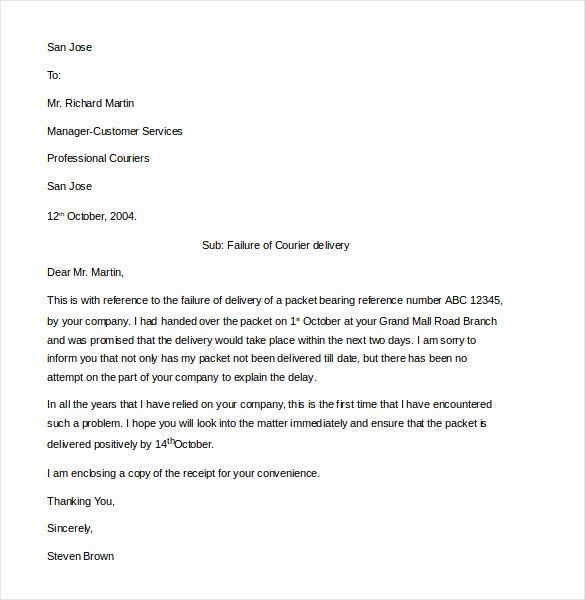 Complaint Letter To Company Luxury 16 Customer Plaint Letter Templates Pdf Doc Letter Templates Business Proposal Template Professional Cover Letter Template