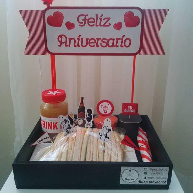 #felizaniversario #desayuno #sorpresa #desayunosorpresa #desayunoartesanal #amor #love #pequiita_s #carupano #sucre #venezuela