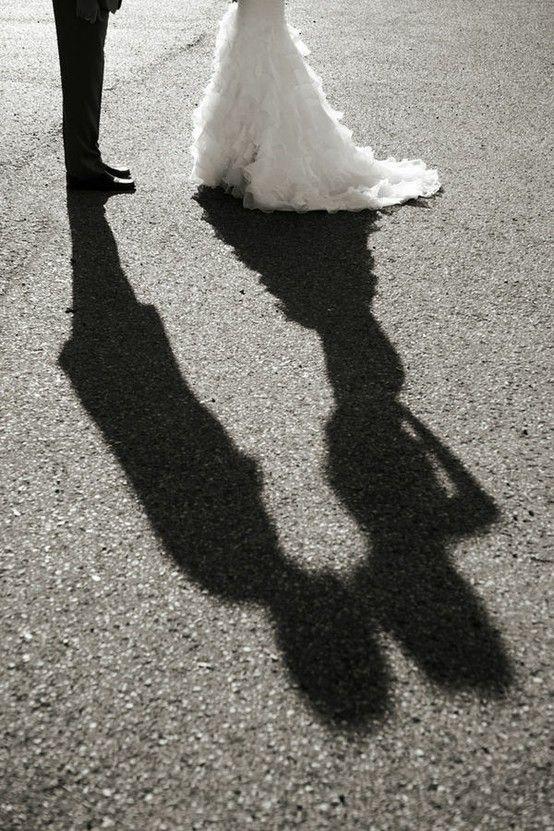 Perfect wedding shot.