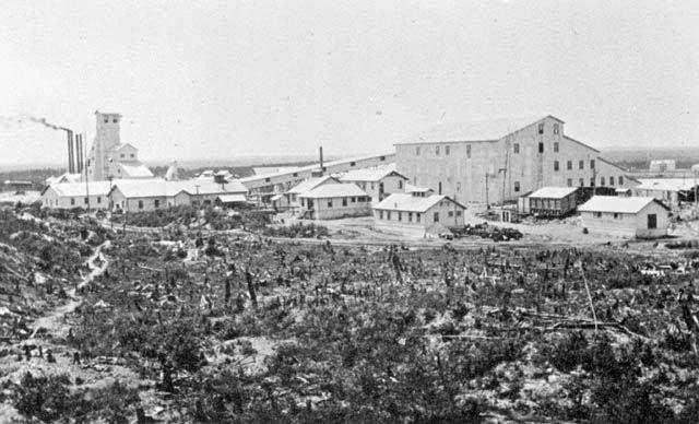 The original Hollinger Gold Mine site, Timmins, Schumacker, Ontario