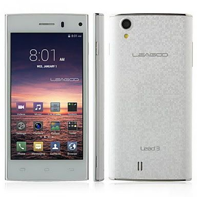Moviles Libres Baratos: Leagoo Lead3 Smartphone 3G (4.5 , Quad Core)