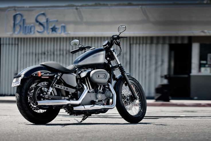 'One day my pretty you will live in my garage and I will polish you and thrash you....Ahem'.  Yea, Nice bike