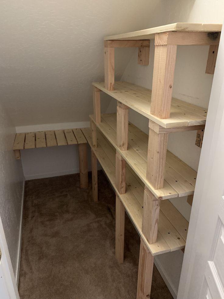 Under Stairs Pantry Room Understairs Storage Pantry Room Stairs Understairs Idea Idea Pantry Room Stai In 2020 Schrank Design Zimmer Unter Der Treppe Vorratsraum