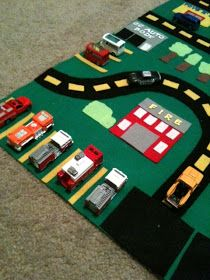 Crafty Soccer Mom: Felt Car Mat