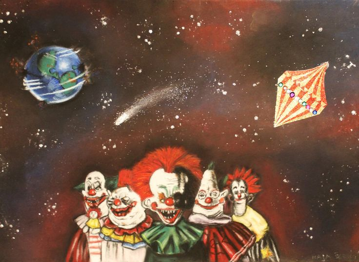104 best images about killer klowns from outer space http for Outer space movies