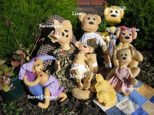 -Dolls on Parade Country Bears-