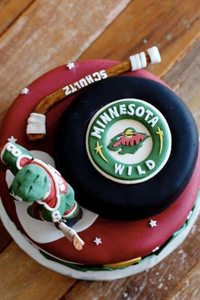 Hockey Birthday Cake Ideas