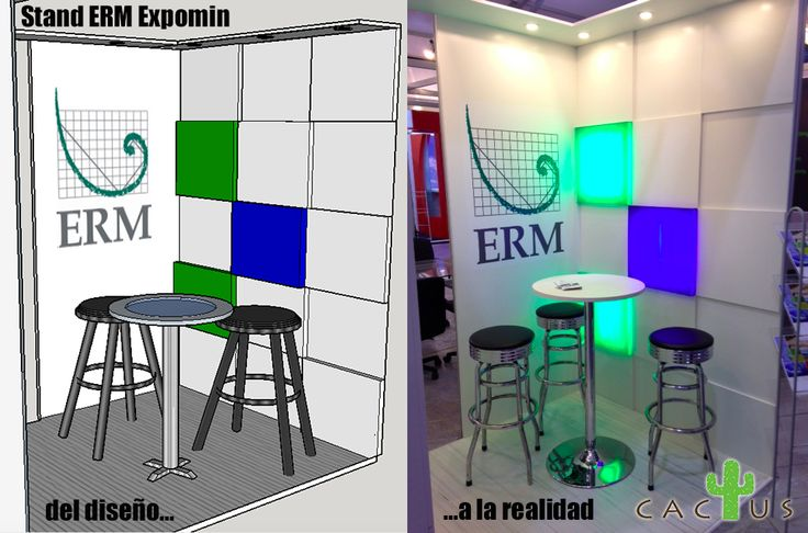 Montaje stand ERM Expomin 2016