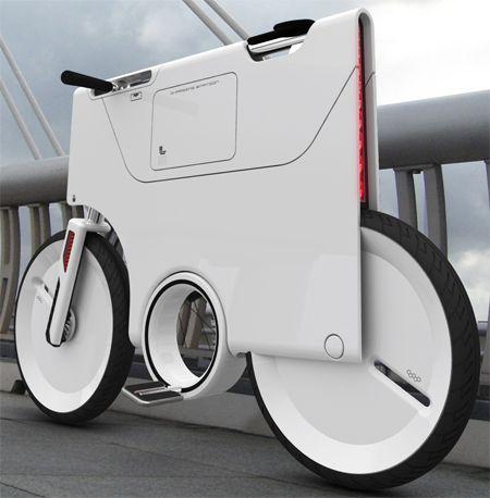 未来の電動自転車のデザインYuji Fujimura氏の作品   A!@Atsuhiko Takahashi
