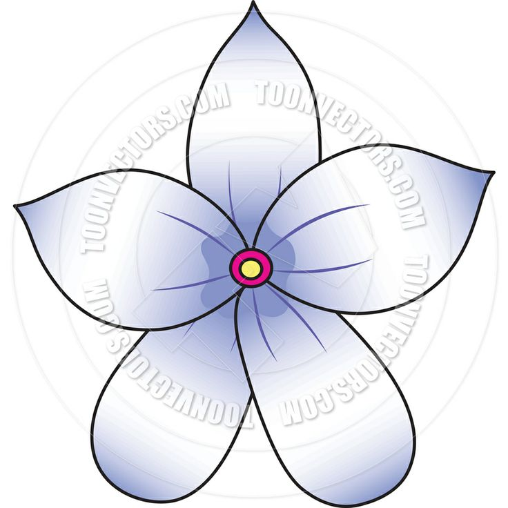 Flower Drawing App: Cartoon Jasmine Flower