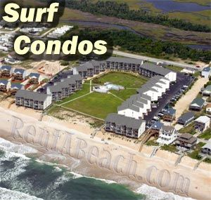 Surf Condos - Oceanfront/Oceanside condo vacation rental condos in ...
