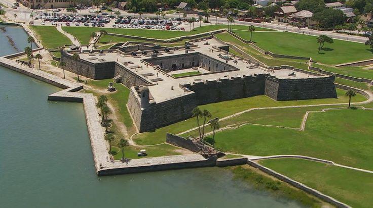 Florida Saint Augustine fort.