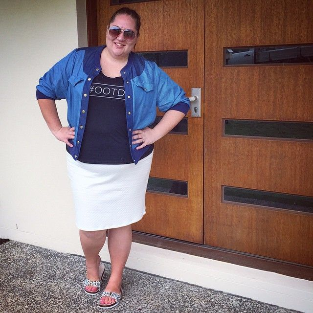 Suger Coat It | An Australian Plus-Size Fashion & Lifestyle Blog | Ruby & Lilli #OOTD Tee