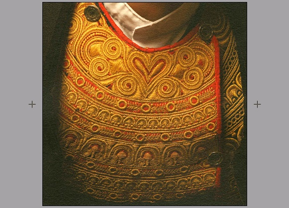 Détail du costume bigouden: Du Costumes, Costumes Bigouden, Arts Textiles, Détail Costumes, Costumes Bretons, Costume Bigouden, Tenues Bretonnes, Costume Breton