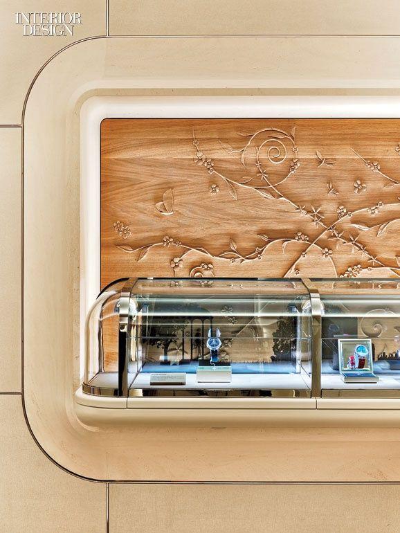 Place Vendome Inspires The Grandeur Of Van Cleef Arpelss Newest Paris Boutique Retail InteriorVan