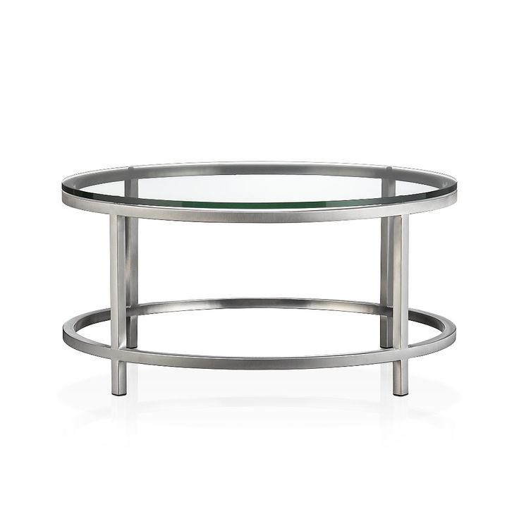 Best 25 round glass coffee table ideas on pinterest for Cocktail tables crate and barrel