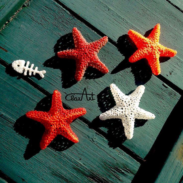 3d Pen starfishes and a fish bone ClarArt - creations & ideas: Aria di…
