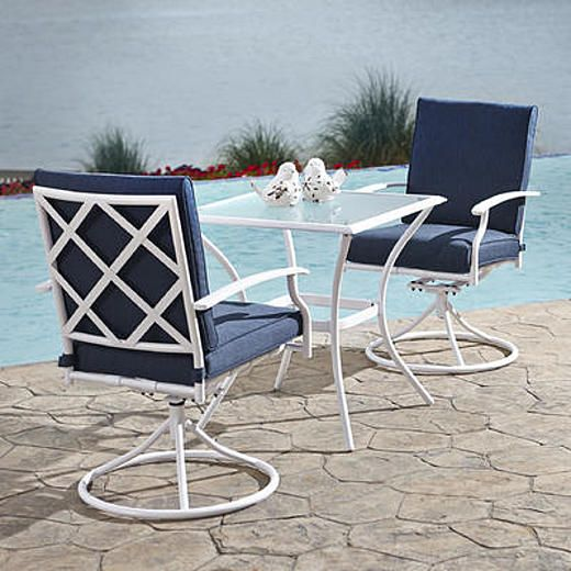 Jaclyn Smith Fairfax 3pc Bistro  Costal Part 68