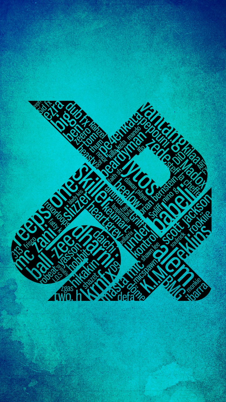 swissbeatbox allstars artwork BLUE - Smartphone Wallpaper