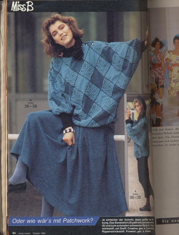 BURDA MODEN 1985