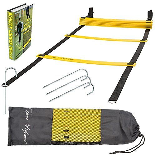 Sport Perfomance Agility Ladder for Best Agility Ladder Drills with Free Carry Bag ** Read more reviews of the product by visiting the link on the image.