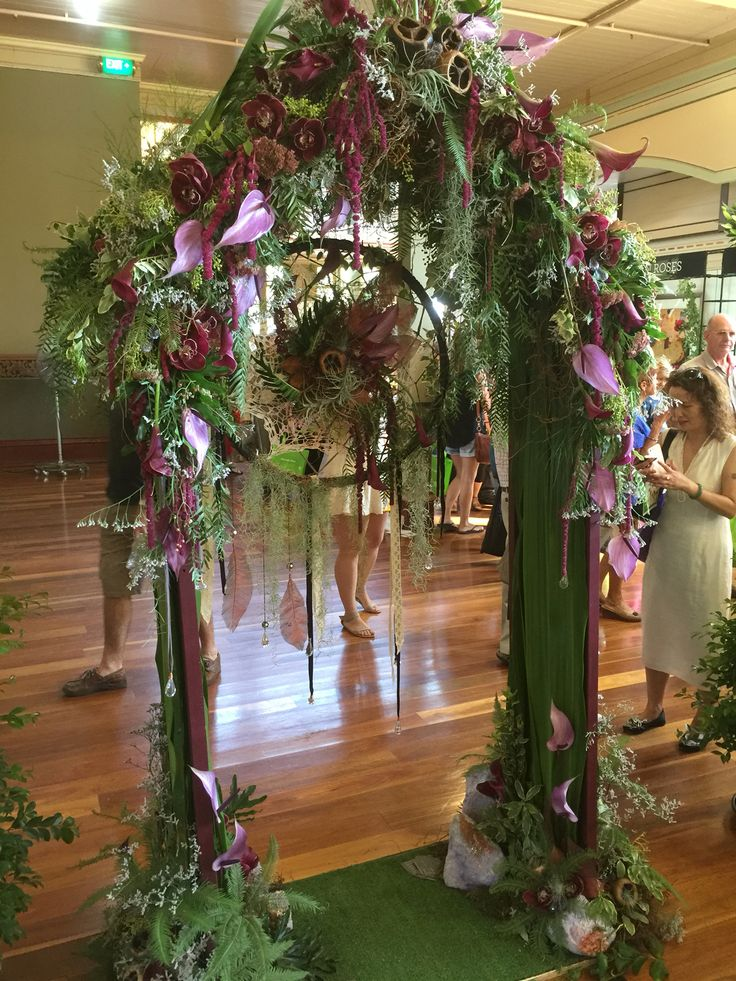 Yesterday enjoyed a few hours at the Royal Melbourne International Flower Show with Jenny